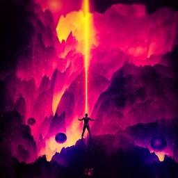 Серия иллюстраций STARMAN