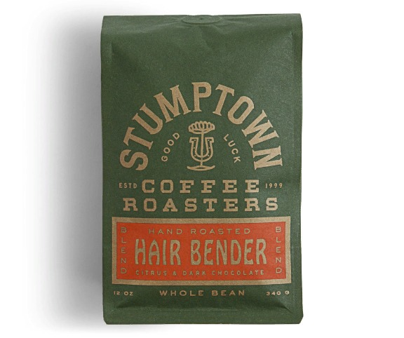 Упаковка марки кофе Stumptown Coffee Roasters