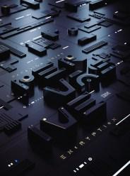 Трёхмерная типографика лондонской студии Sawdust