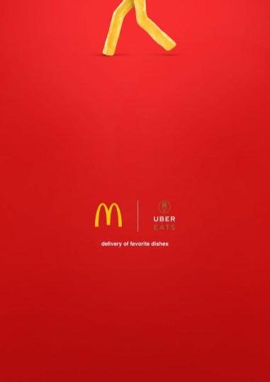 Минималистская реклама для известных брендов