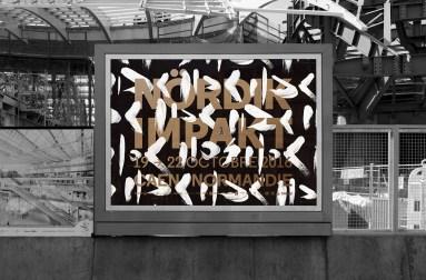 Айдентика 18-го фестиваля электронной музыки Nördik Impakt во Франции