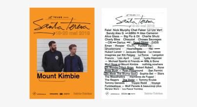 Айдентика музыкального фестиваля Santa Teresa Fest 2018