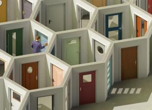 Трёхмерные изометрические иллюстрации Макса Гутера из Берлина