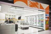 Айдентика сети китайских супермаркетов Yancheng