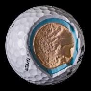 Что находится внутри мячиков для гольфа