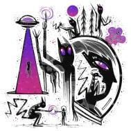 Психоделические персонажи нью-йоркского иллюстратора под псевдонимом BrooklynSnobs