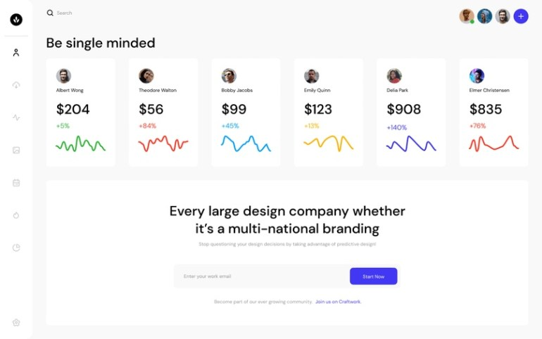 Open Source Dashboards UI Kit