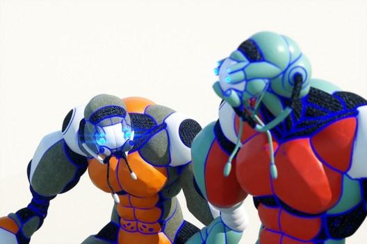 Яркие трёхмерные концепты персонажей французской студии Bisous Production