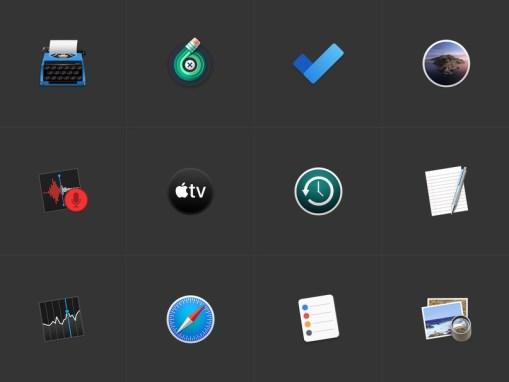 Три галереи красивых иконок Apple устройств