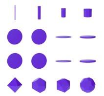 Shapefest — большой набор трёхмерных форм, которые можно использовать в проектах