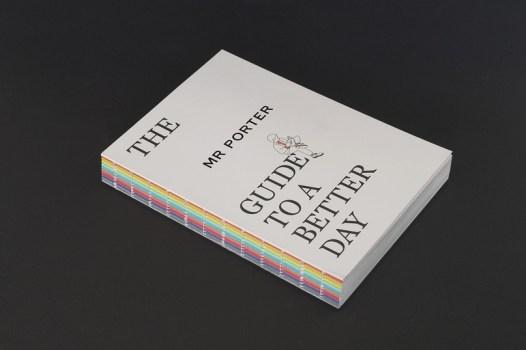 Дизайн и вёрстка книги The MR PORTER Guide