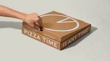 Коробки для круглосуточной доставки пиццы