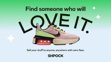 Айдентика сервиса Shpock