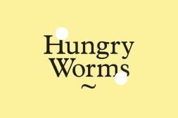 Лаконичная айдентика благотворительной библиотеки Hungry Worms