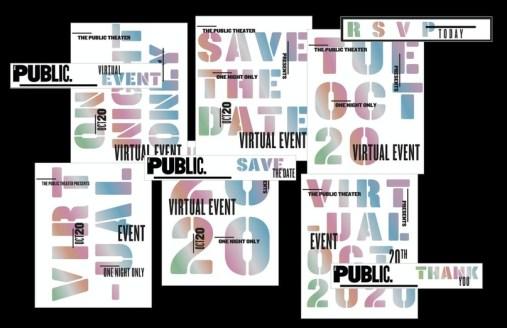 Пола Шер обновила дизайн афиш нью-йоркского театра Public