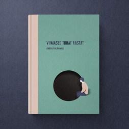 Книжные обложки Эйко Ойалы из Таллина, знаменитого своими бумажными иллюстрациями