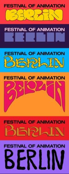 Айдентика и плакаты The Festival of Animation Berlin — первого в Берлине фестиваля, посвящённого анимации и моушен-дизайну