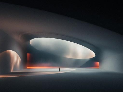 Лаконичные трёхмерные визуализации Даниэля Лепика, иллюстратора и дизайнера из Эстонии