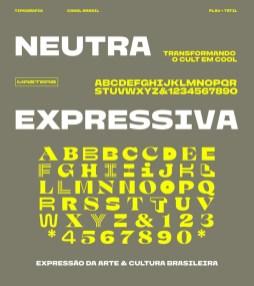 Система вариативных шрифтов для айдентики телеканала Brasil