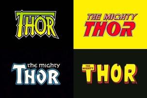 Коллекция 150 леттеринг-логотипов супергероев Marvel из комиксов 80-90-х годов