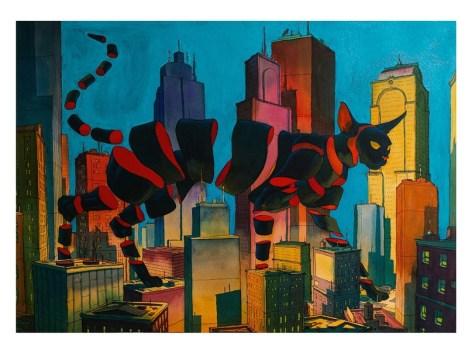 Flux (поток, постоянное движение) —серия акварелей французского художника, иллюстратора и арт-директора Оливье Бонамме