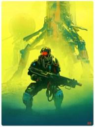 Детализированные и выразительные трёхмерные Sci-Fi-иллюстрации канадского художника Паскаля Бланше