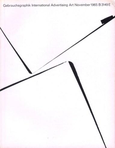 9 обложек журнала Gebrauchsgraphik