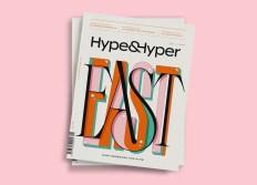 Айдентика и вёрстка печатного журнала Hype&Hyper