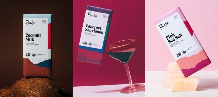 Обновление дизайна упаковки шоколада Raaka
