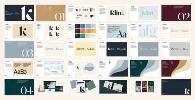 Упаковка красок шведской марки Klint