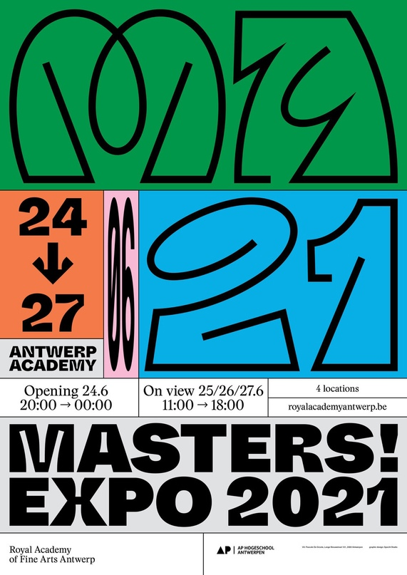 Плакаты Specht Studio из Антверпена