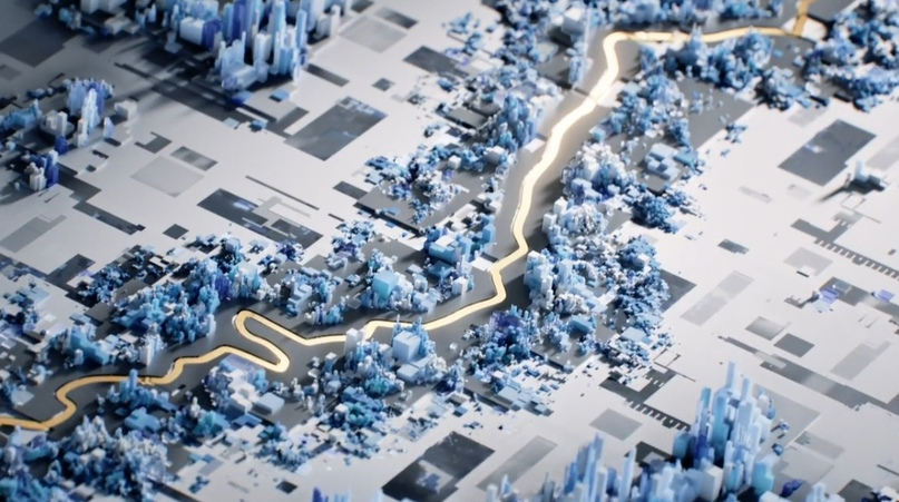 Увлекательный 3D-эксплейнер компании Cisco, которая занимается продажей сетевого оборудования