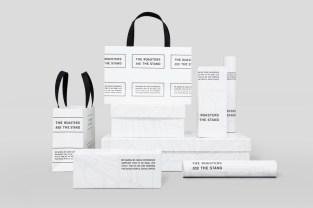 Упаковка кофейной марки The Roasters and The Stand, созданная в японской студии emuni