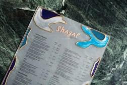 Айдентика ресторана Shagal