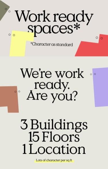 Айдентика Hoxton Campus — нового кластера бизнес-центров в Лондоне