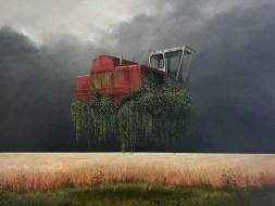 Уединение, заброшенность и безлюдность в пейзажах британского художника Ли Мэджвика, часть 2
