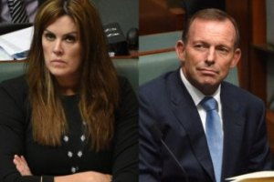 Peta Credlin and Tony Abbott