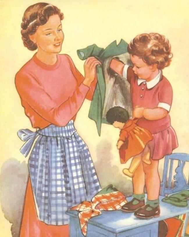 24 1 - DIA DA DONA DE CASA: Guia da 'boa esposa' dos anos 50 traz dicas de comportamento no lar