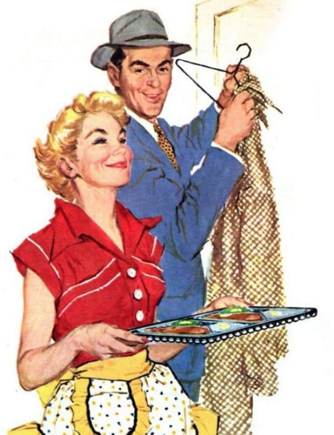 25 - DIA DA DONA DE CASA: Guia da 'boa esposa' dos anos 50 traz dicas de comportamento no lar