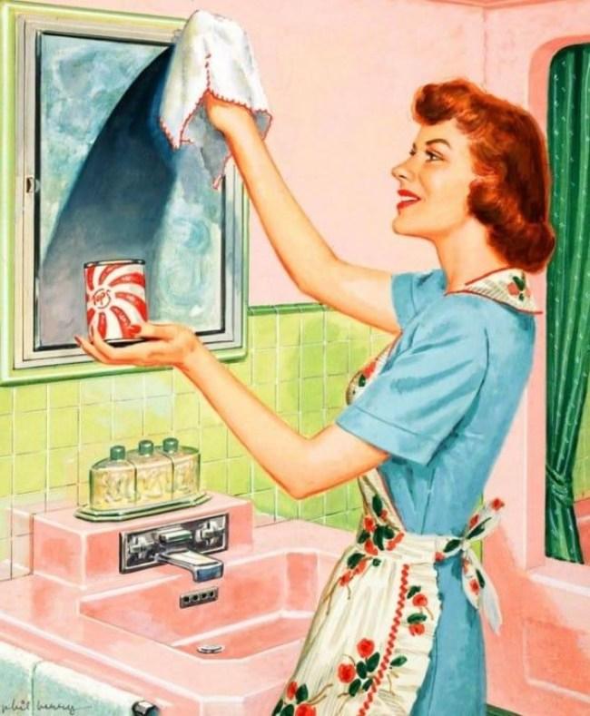 30 - DIA DA DONA DE CASA: Guia da 'boa esposa' dos anos 50 traz dicas de comportamento no lar