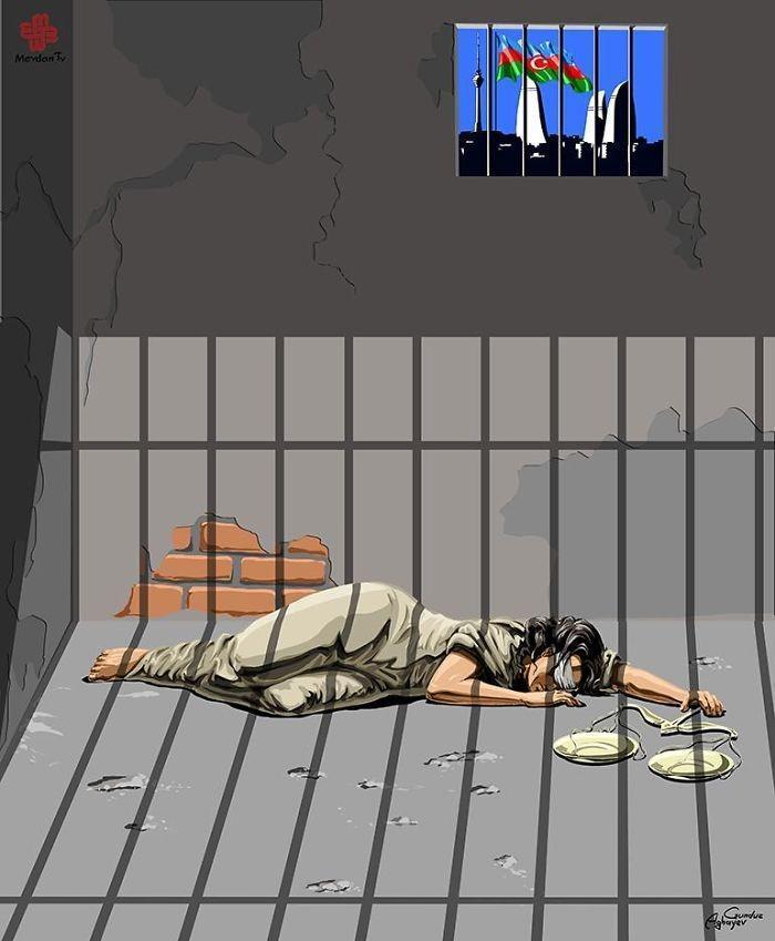 Cartunista retrata como líderes mundiais veem a justiça (3)