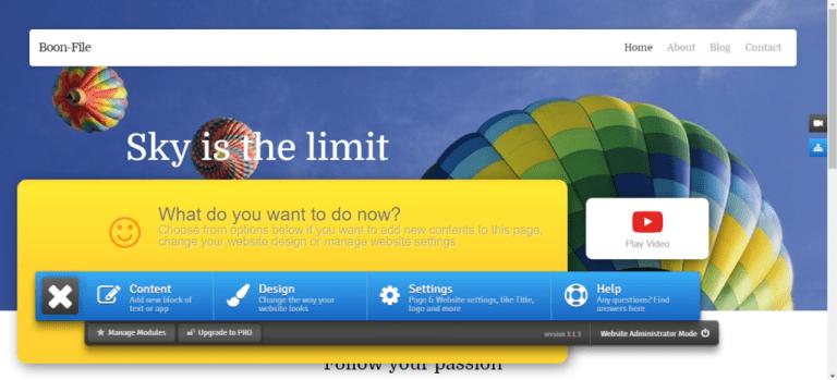 Easy Website Builder 6