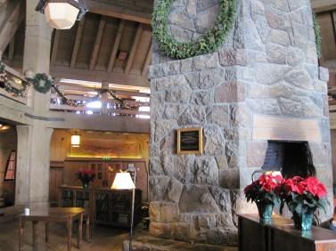 Fireplace Timberline Lodge