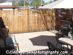 Hummingbird Casita's patio