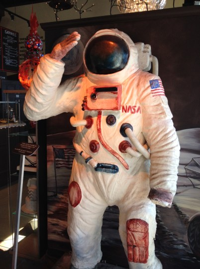 Heavenly astronaut