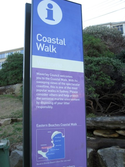 Coastal Walk between Bronte & Bondi Beaches