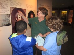 Learning history from the park interpreters