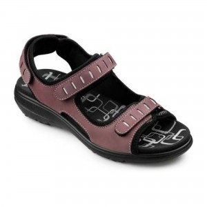 My 'Scarlett' sandals, described as  'designed to fit anatomically'
