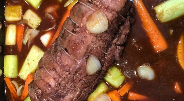 Pot Roast Brisket Beef