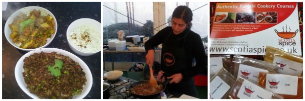 A demo from Yasmin on how to cook food that wins on flavour and affordability